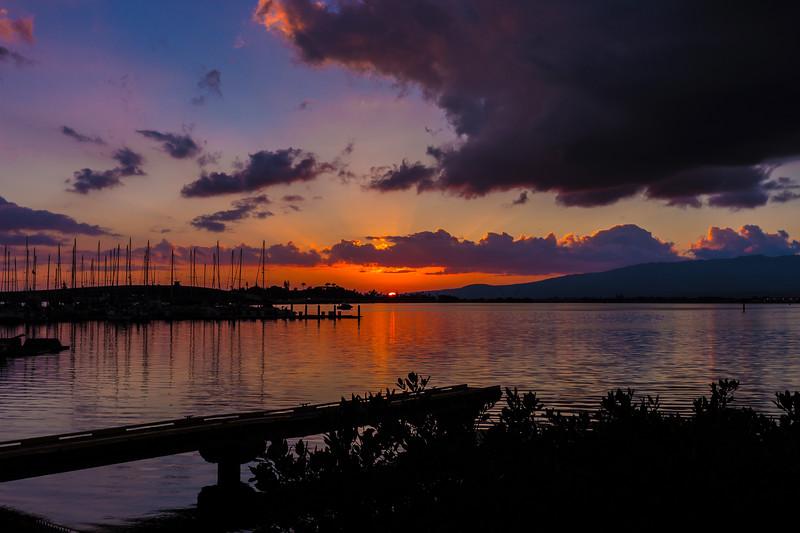 Pearl Harbor Sunset 2.23.14