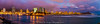 Point Panic Sunset / Super Moon Rise  6.22.13<br /> <br /> Panorama 4 picture / all parts of this picture is copyrighted for Vernon L. Enriques