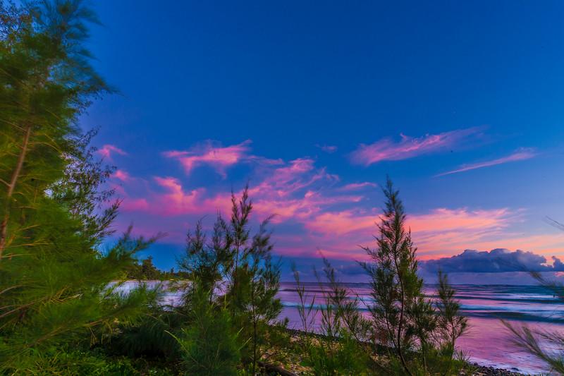Punalu'u Oahu Hawaii Sunrise