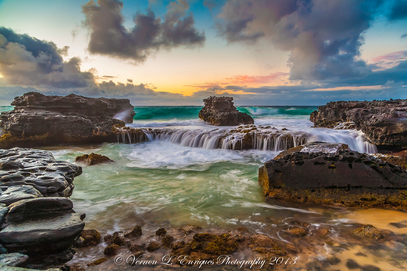 Sandy Beach Oahu, Hawaii