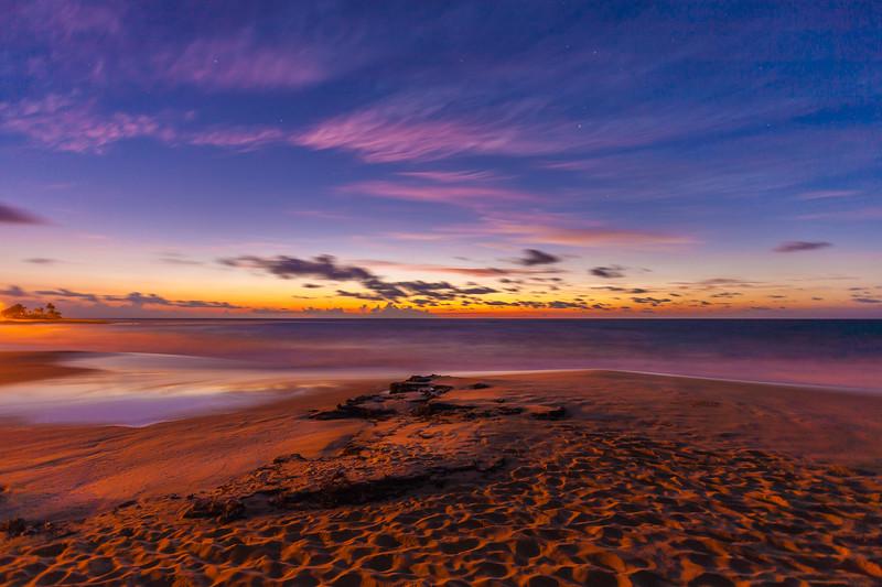 Sandy Beach Sunrise 1.11.14 Oahu Hawaii