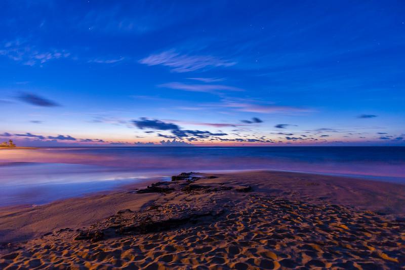 Sandy Beach Sunrise 1.11.14