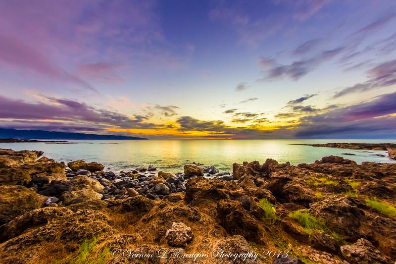 Shark's Cove Sunset 7.22.13