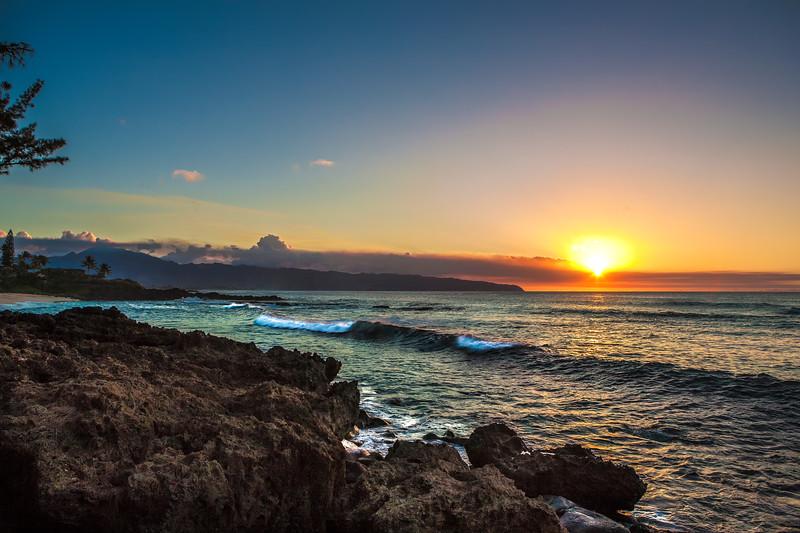 Shark's Cove Sunset 10.23.13