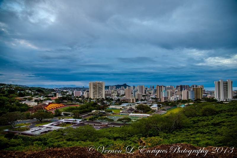 Tantalus, Oahu, Hawaii  3.23.13  Sunrise