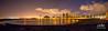 Magic Island Sunrise 8.8.13 2 pic pano