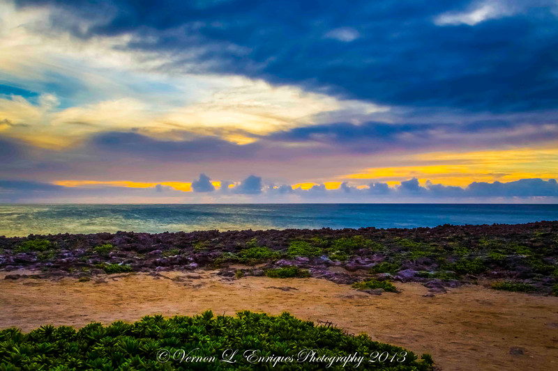 Turtle Bay Sunset 7.24.13