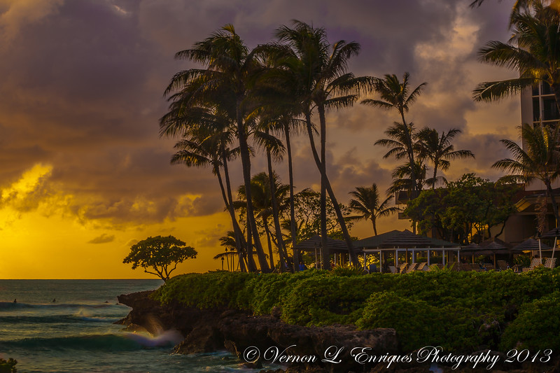 Turtle Bay Hilton Sunset