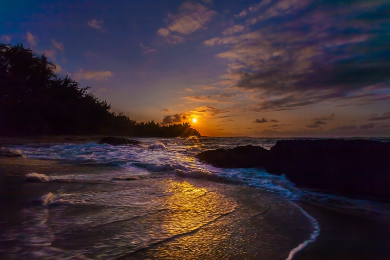 Turtle Bay Sunset 3.21.14