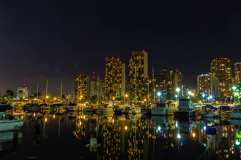 Waikiki / Night Shots and Fireworks