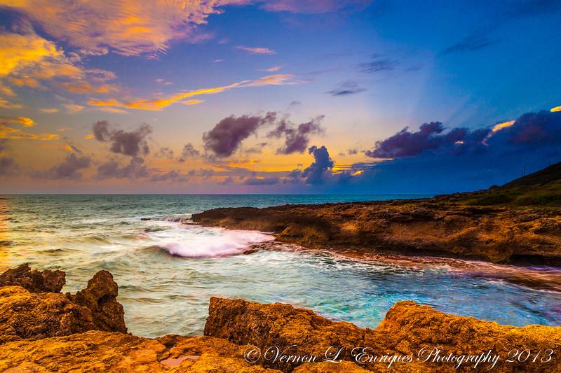 Yokohama Bay, Waianae, Oahu, Hawaii   Sunset