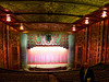 The stage from mid-balcony.<br /> The front flooring covers the orchestra pit. On the left, the flooring covers the organ console.v<br /> 18 Paramount Theater 2013-08-17 at 11-05-59