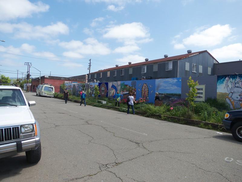 The Rue de Merde Mural<br /> Oakland  2014-04-12 at 12-01-56