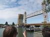 The raising of the Miller-Sweeney Bridge<br /> Oakland  2014-04-12 at 11-14-48