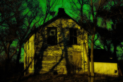 Abandonded Farm House Adobe LR2 Halton Ontario