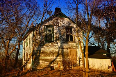 Abandonded Farm House Halton Ontario