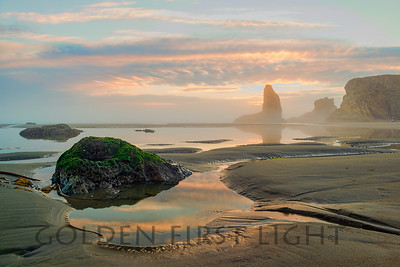 Sunset at Bandon Oregon