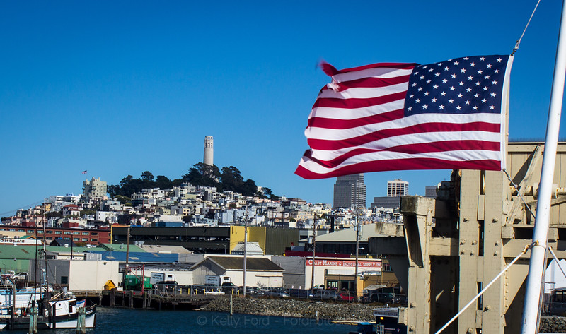 Yes, Virginia San Franciscans are patriotic too