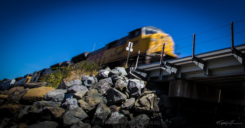Puget Sound Train  Image By: Kelly Ford