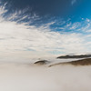 In the fog, Big Sur, California