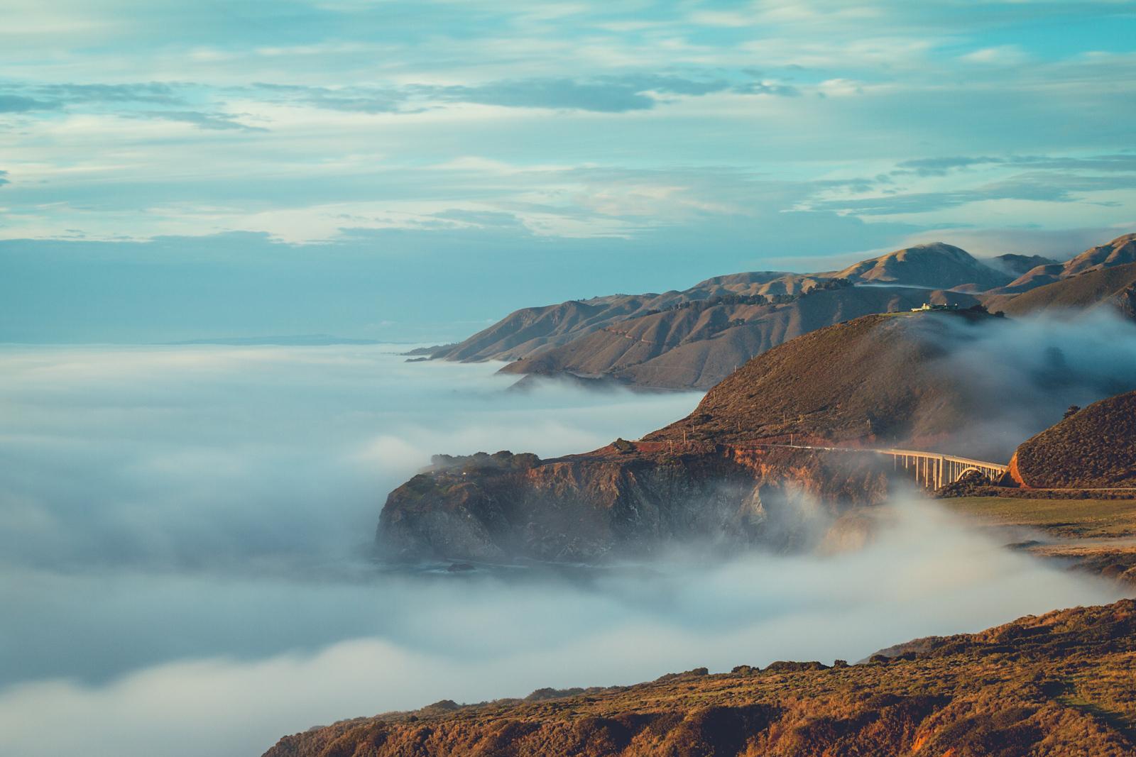 Highway 1 Coastline, Big Sur, California