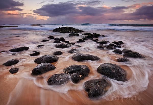 """Secret Beach Sunrise""  Shot on the beautiful Hawaiian Island Kauai."