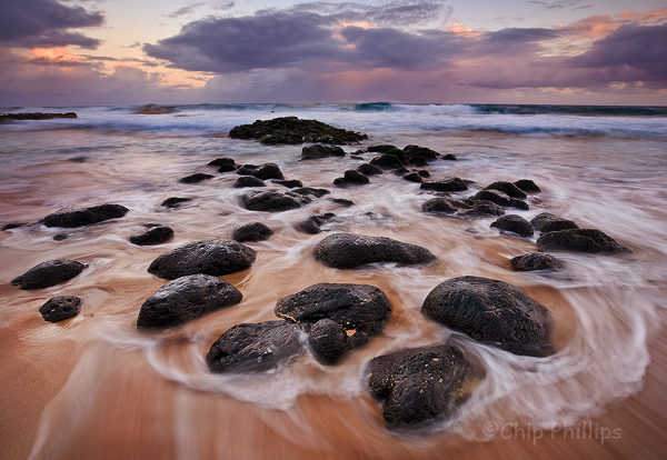 """Secret Beach Sunrise""