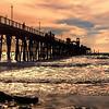 Oceanside Pier, Oceanside, CA.
