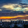 Oeanside Harbor Sunset, Oceanside, CA.