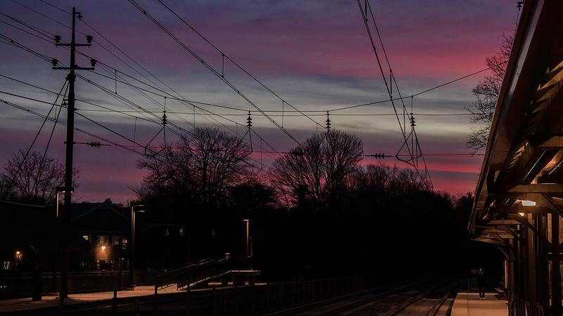Radnor Station Sunset - 1920x1080