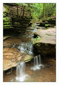 Old Man's Cave Falls, Hocking Hills Ohio