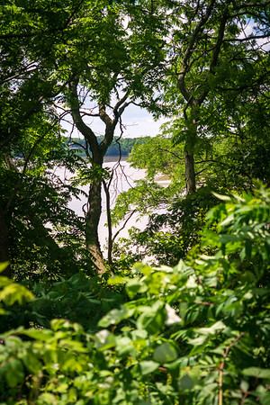 Maumee River Through the Trees at Fort Miamis National Historic Site
