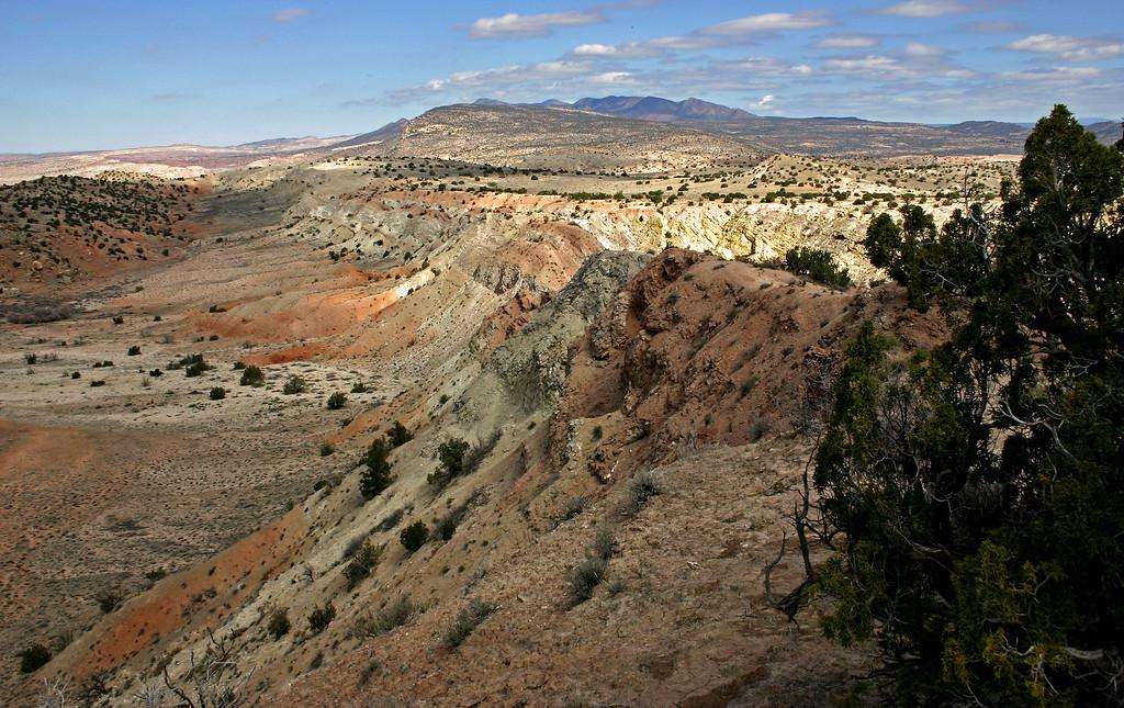Ojito Springs panorama