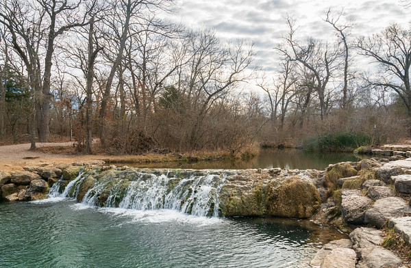 Waterfall at Chickasaw National Recreation Area, Oklahoma