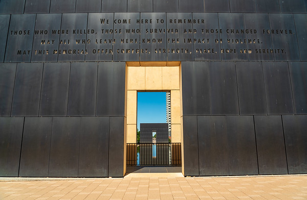 The Monument at Oklahoma City National Memorial