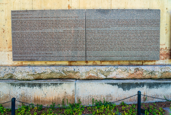 Plaque at Oklahoma City National Memorial