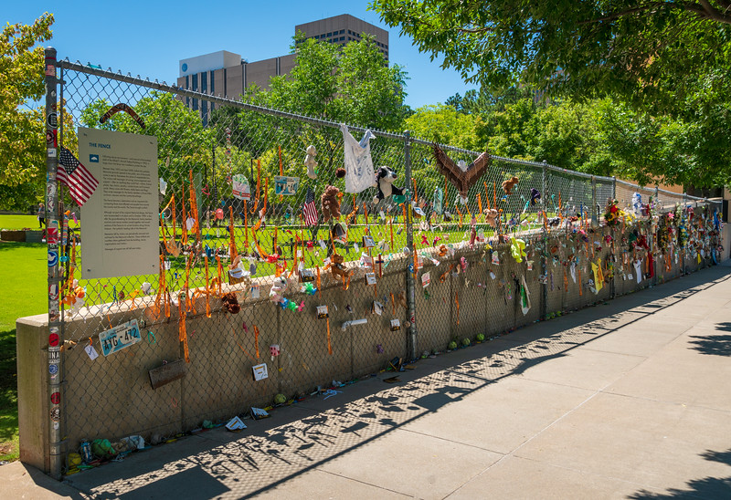 The Fence at Oklahoma City National Memorial