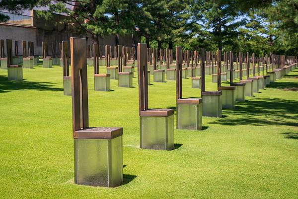 Monuments at Oklahoma City National Memorial