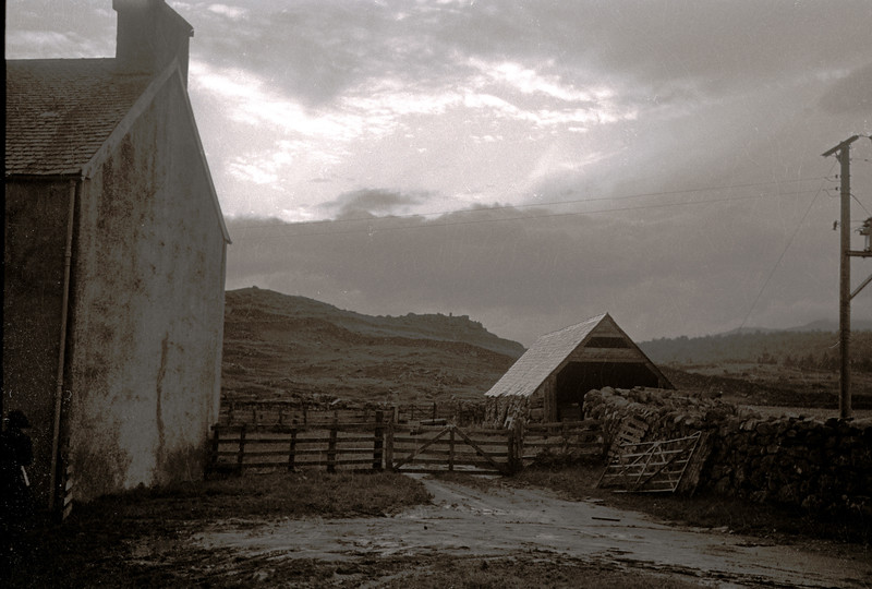 Invercomrie farmyard,  1962