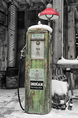 Indian Gas Pump