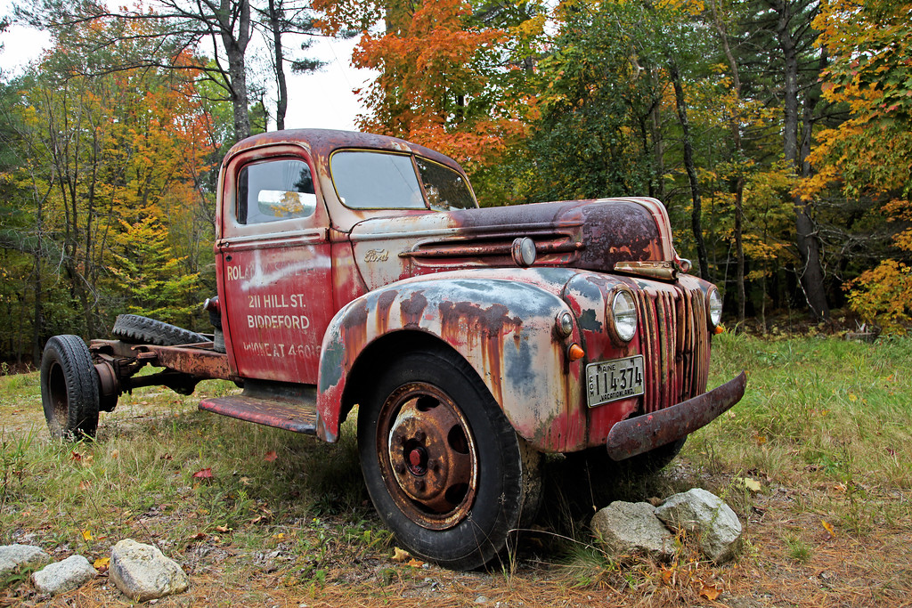 Old Trucks and Cars - DrSpencerMoorePhotography