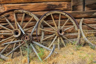 Old West #4 Broken Wheel