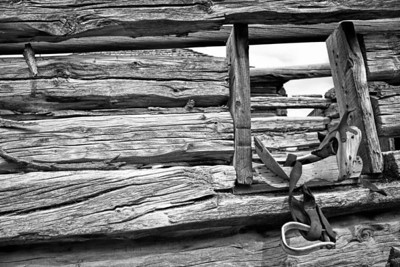 Old West #5 Wooden Saddle