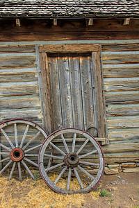 Old West #6 Barn Door