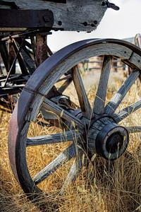 Old West #2 Wagon Wheel