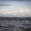 Olympic Mountains Anderson Island Puget Sound