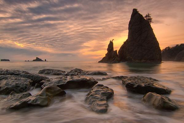 Olympic National Park and Oregon Coast