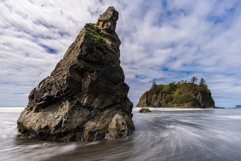 Ruby Beach Stacks