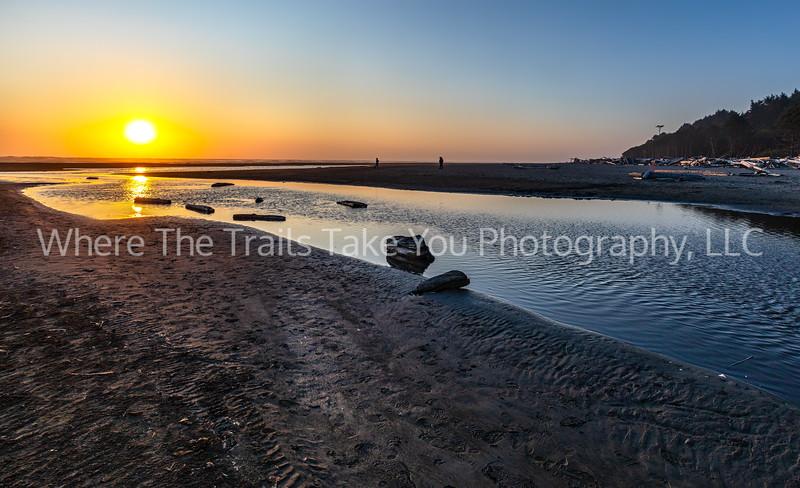 61.  The Start Of Sunset At Kalaloch Beach