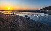The Start Of Sunset At Kalaloch Beach